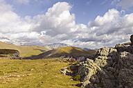 Spain, Pyrenees, Ordesa y Monte Perdido National Park, Canon de Anisclo with Sestrales Aloto and Bajo - LAF000279
