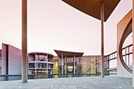 Germany, Berlin, View from Marie Elisabeth Lueders Building to the Paul Loebe House - MSF003106