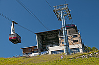 Germany, Bavaria, Oberallgaeu, Oberstdorf, Station Schlappoldsee, Fellhorn - WG000106
