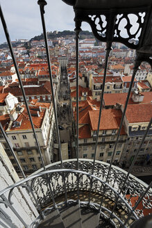 Portugal, Lisboa, Baixa, view over the city - BIF000104