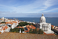 Portugal, Lisbon, Alfama, view over the city - BIF000136