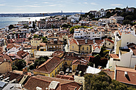 Portugal, Lisbon, Alfama, view over the city - BIF000138