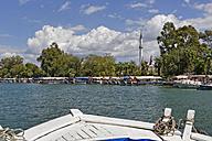 Turkey, Dalyan, Tourboats on Dalyan River - SIE004743