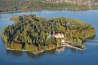 Germany, Baden-Wurttemberg, Mainau Island, Aerial View - SH001143