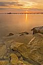 Switzerland, Thurgau, Altnau, Jetty at Lake Constance - SH001180