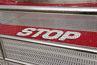 Stop at steps at fairground ride - VI000034