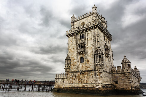Portugal, Lisbon, Belem, View of Belem Tower - BI000154