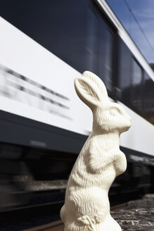 Easter Bunny survives the train - MSF003151
