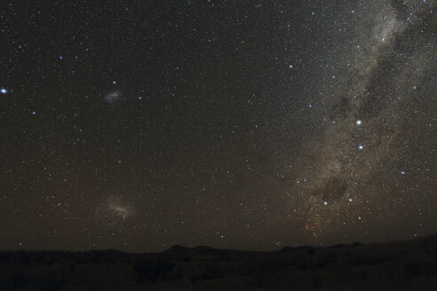 Afrika, Namibia, Large Magellanic Cloud, Small Magellanic Cloud and Milky Way - RMF000627