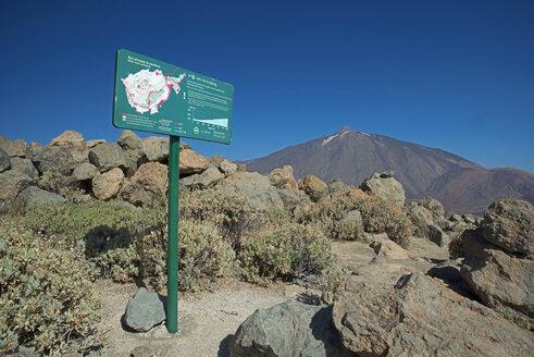 Spain, Tenerife, Pico del Teide in Teide national park - WG000146
