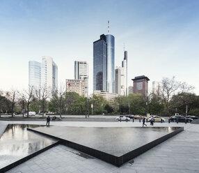Germany, Hesse, Frankfurt, view to skyline - WA000045