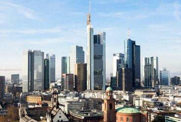 Germany, Frankfurt, Hesse, Skyline - AMF001454