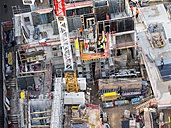 Germany, Frankfurt, Hesse, Construction site - AM001453