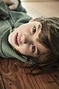 Portrait of little girl, close-up - LVF000390