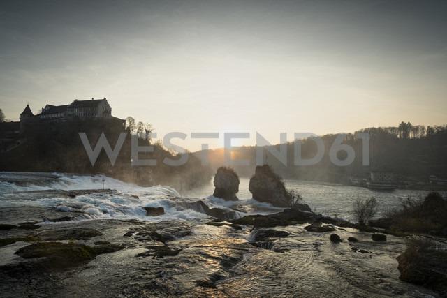 Switzeland, Schaffhausen, Rhine falls with Laufen Castle - ELF000721 - Markus Keller/Westend61