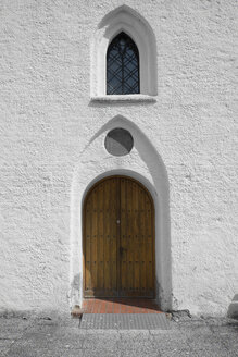 Sweden, Skanoer Med Falsterbo, portal of church - VI000228