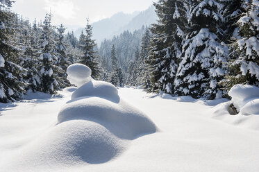 Austria, Salzburg State, Altenmarkt-Zauchensee, Winter landscape - HHF004672