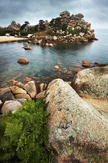 France, Bretagne, Perros-Guirec, Granite coast - BIF000261