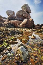 France, Bretagne, Perros-Guirec, Granite coast - BI000223
