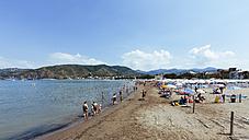 Italy, Cinque Terre, Sestri Levante, View of Lido - AM001553
