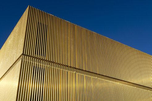 Germany, Munich, Lenbachhaus, extension building, part of facade - TC003763