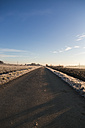Germany, Bavaria, street and fields in the morning - SARF000184