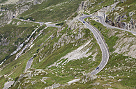 Switzerland, Uri Alps, View of Susten Pass - WWF002965