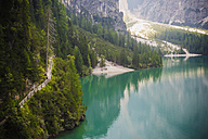 Italy, Trentino-Alto Adige, Alto Adige, Puster Valley, part of Lake Prags - MJF000478