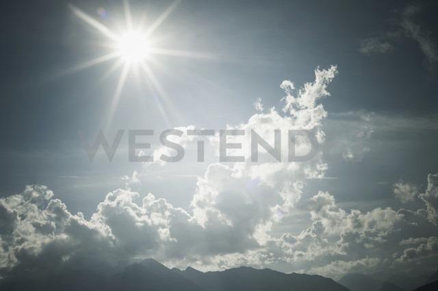 Italy, Province of Belluno, Veneto, Auronzo di Cadore, Tre Cime di Lavaredo, cloudscapes - MJF000499