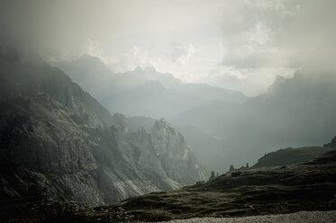 Italy, Province of Belluno, Veneto, Auronzo di Cadore, Tre Cime di Lavaredo - MJF000496