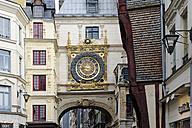 France, Region Haute-Normandie, Departements Seine-Maritime, Rouen, Le Gros Horolge, astronomical clock - LB000461