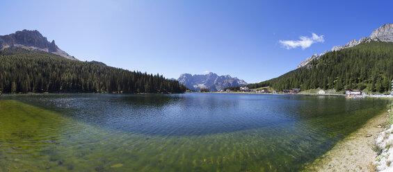 Italy, Veneto, Sorapiss Group and Lake Misurina - WW003113