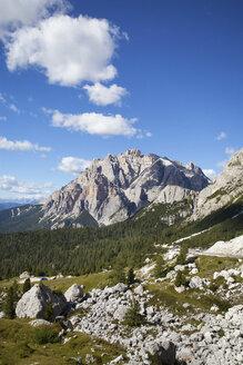 Italy, Veneto, Valparola Pass, Fanes Group, Piz dles Cunturines - WWF003040