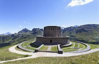 Italy, Trentino, Belluno, Soldier cemetery at Pordoi Pass - WW003123