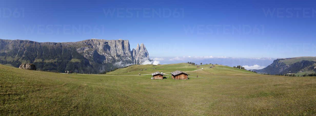 Italy, South Tyrol, Seiseralm and Schlern group - WWF003060 - Wolfgang Weinhäupl/Westend61