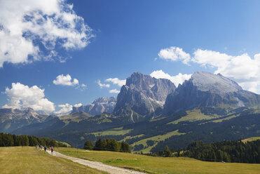 Italy, South Tyrol, Seiseralm and Langkofel group - WWF003069
