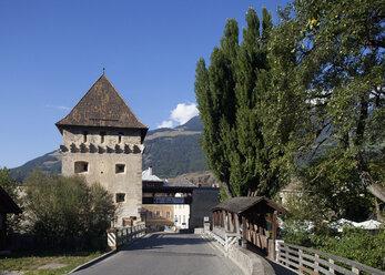 Italy, South Tyrol, Vinschgau, Glurns, Tauferer Tor - WW003009