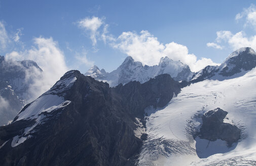 Italy, South Tyrol, Vinschgau, Stelvio Pass and Ortler Mountains - WWF003018
