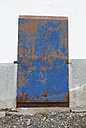 Italy, South Tyrol, Vinschgau, Old door of a building at Stelvio Pass - WWF003022