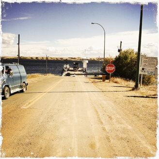Ferry at Lake Diefenbaker, Canada, Saskatchewan - SEF000114