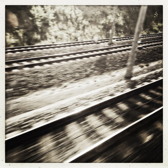 Travelling in train, Germany - SEF000167