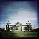Reichstag, German parliament building, Germany, Berlin - ZMF000036