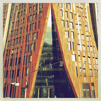 New Architecture in ueberseeallee HafenCity, Hamburg, Germany, Hamburg - SE000270