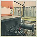 Harbour railway engine, Hamburg, Germany - SEF000369