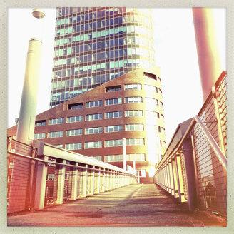 Bridge and the tower of Channel Hamburg, Hamburg, Germany - SEF000366