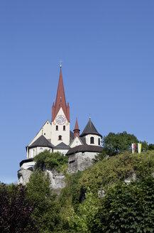 Austria,Vorarlberg, Rankweil, View of Fortified Liebfrauenbergkirche - WW003155