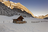 Austria, Tyrol, Eng, chapel at Eng alp - GFF000381