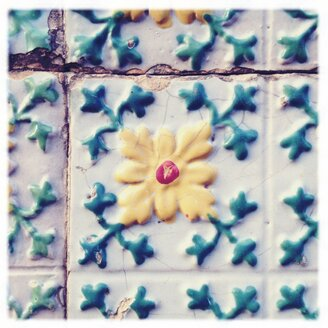 Portugal, Amarante, tiles, pattern - BMF000733