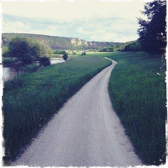 Bavaria, Eichstaett, bike path - BMF000750