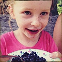 Austria, Alm, Carinthia, little girl, blueberries - BMF000787